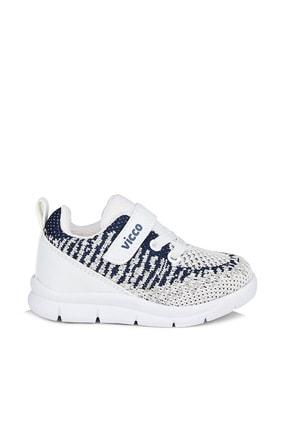 Vicco Cornet Unisex Bebe Beyaz Spor Ayakkabı 2