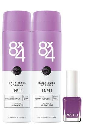 8x4 Nıvea 8x4 Sprey No.4 150ml X2 +pastel Oje - 51 0