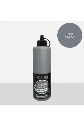 Cadence Boya Hybrid Multisurface Akrilik Boya 500 Ml. H-090 Koyu Gri 0