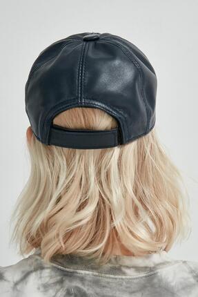 Y-London Kadın Lacivert Spor Şapka 13504 2