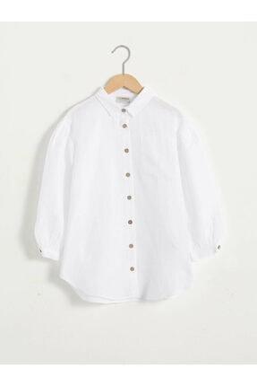 LC Waikiki Kız Çocuk Beyaz Gömlek 0