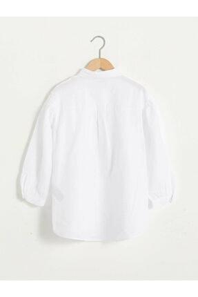 LC Waikiki Kız Çocuk Beyaz Gömlek 1