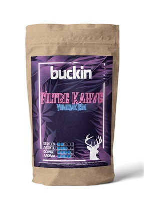 Buckin 3x200 gr Filtre Kahve Paketi Filtre Kahve Makinesi Ve French Press Uyumlu Tanışma Paketi 3