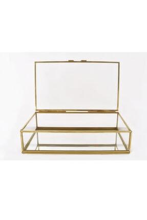EsaDesign Cam Gold Takı Nişan Aksesuar Kutusu 3