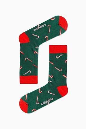 CARNAVAL SOCKS 5'li Kış Temalı Renkli Çorap Set 1