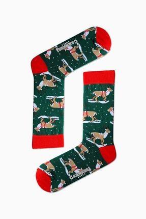 CARNAVAL SOCKS 5'li Kış Temalı Renkli Çorap Set 3