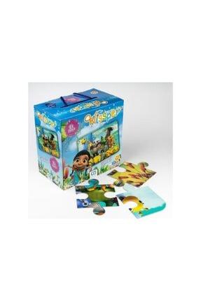 CA Games 2'li Yer Puzzle Seti (5025-5066) 2