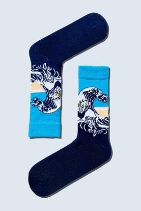 CARNAVAL SOCKS 7'li Sanatsal Çorap Desenli Tasarım Renkli Socks Set 1010 2