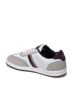 US Polo Assn KARES 1FX Beyaz Erkek Sneaker Ayakkabı 100910452 2