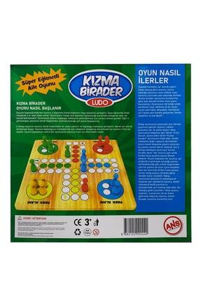 ANS TOYS Ahşap Kızma Birader Kutu Oyunu 2