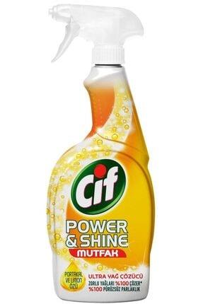 Cif Power & Shine Mutfak Sprey Temizleyici 750 ml 2