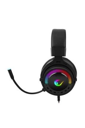 Rampage Bygame-x1 Siyah Usb 7.1 Surround Rgb Ledli Gaming Mikrofonlu Oyuncu Kulaklığı 1