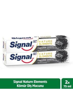 Signal Nature Elements Diş Macunu Kömür 75 ml X 2 0