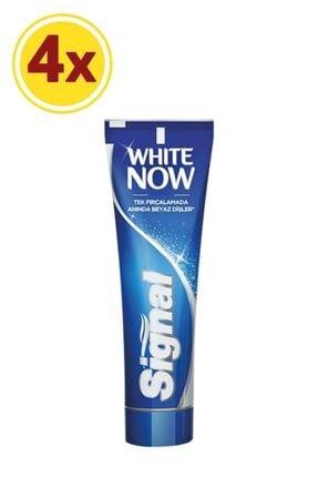 Signal White Now Anında Beyazlık Diş Macunu 75 ml X4 1