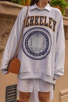 Senclub 3131 Gri Berkeley Baskılı Sweet 1