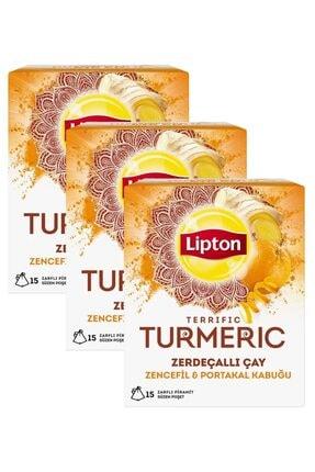 Lipton Turmeric Zerdeçallı Çay 30 gr X 3 Adet 0