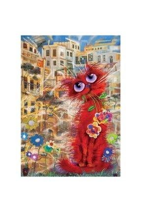 Art Puzzle Kırmızı Kedi 260 Parça Puzzle 1