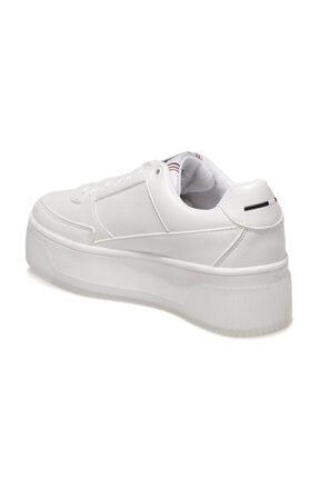 US Polo Assn MADONNA 1FX Beyaz Kadın Fashion Sneaker 100910524 2