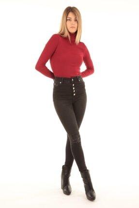 Kadın Siyah Jean Pantolon 72501 72501 JEAN PANTOLON