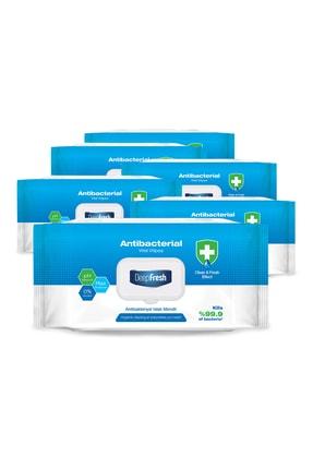 Deep Fresh Antibakteriyel Islak Mendil 6'lı Paket 600 Yaprak 1
