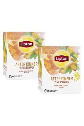 Lipton After Dinner Bardak Poşet Bitki Çayı 15'li X 2 Adet 0