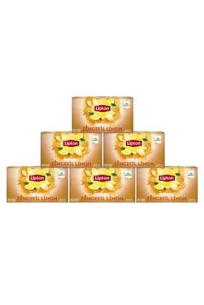 Lipton Zencefil Limon Bardak Poşet Çay X 6 Adet 1