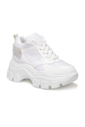 Butigo Brad Beyaz Kadın Sneaker Bot 1