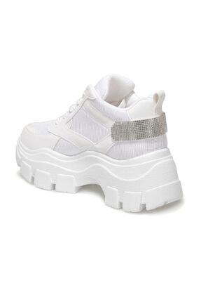 Butigo Brad Beyaz Kadın Sneaker Bot 2