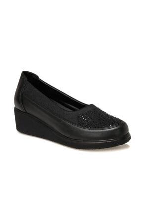 Polaris 103258.Z1FX Siyah Kadın Klasik Ayakkabı 101002737 0