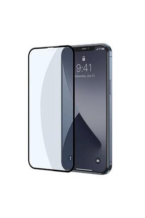 Baseus Iphone 12-12 Pro 0.3mm Full Anti Blue Light Tempered Cam Ekran Koruyucu 2adet Set 1