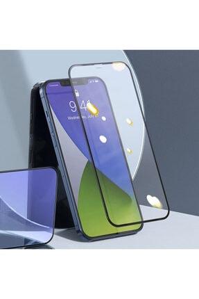 Baseus Iphone 12-12 Pro 0.3mm Full Anti Blue Light Tempered Cam Ekran Koruyucu 2adet Set 2