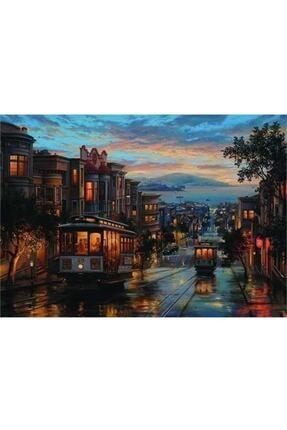 Anatolian Puzzle San Francisco Sokakları 1500 Parça Puzzle / 0