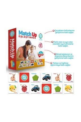 MerCan Toys Match Up Eşleştirme Kartları 1