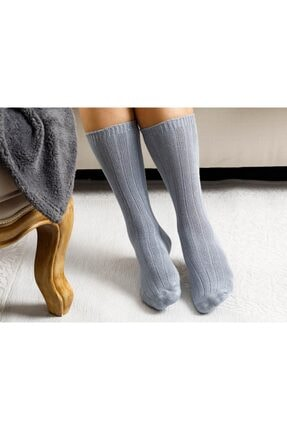 English Home Caraline Bambu Kadın Çorap Gri 0