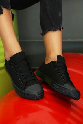 Ayakkabı Modası Kadın Siyah Ayakkabı M9999-19-100165R 0
