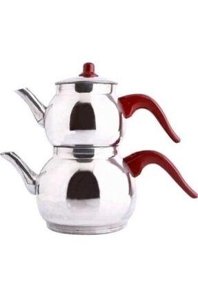 Tombik Alüminyum Çaydanlık Seti 4 No şen
