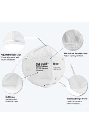 3M 9501v N95 Maske ( 5 Adet ) 0