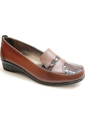 50812 Topuk Dikenine Özel Ortapedik Anne Ayakkabısı Taba resmi