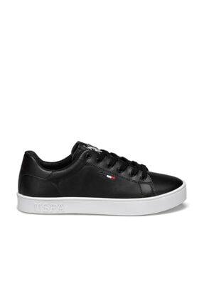 US Polo Assn Flex Siyah Kadın Sneaker Ayakkabı 1