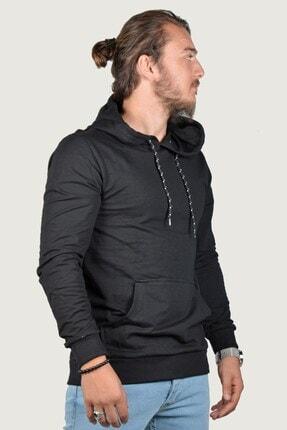 Terapi Men Erkek Kapşonlu Uzun Kollu Sweatshirt 9y-5200178-002 Siyah 1