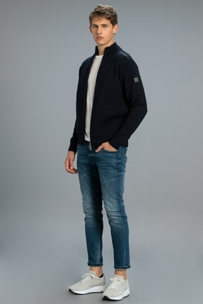 Lufian Icon Smart Jean Pantolon Slim Fit Açık Indigo 1