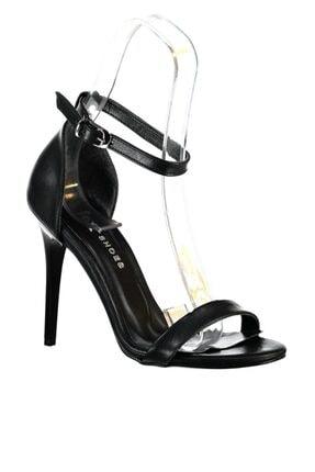 Fox Shoes Siyah Kadın Topuklu Ayakkabı B922112609 2