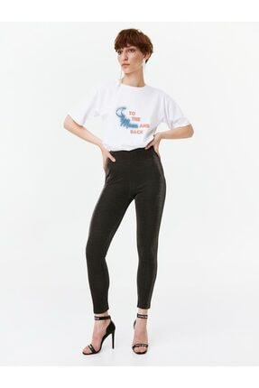 Twist Simli Örme Tayt Pantolon 1