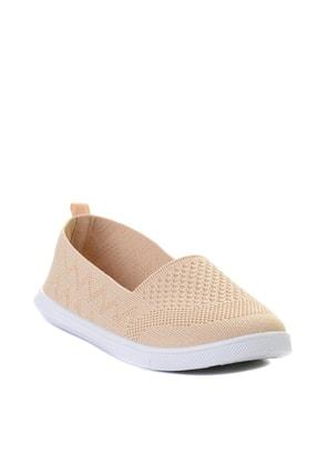 Bambi Bej Triko Kadın Sneaker L0543401082 2