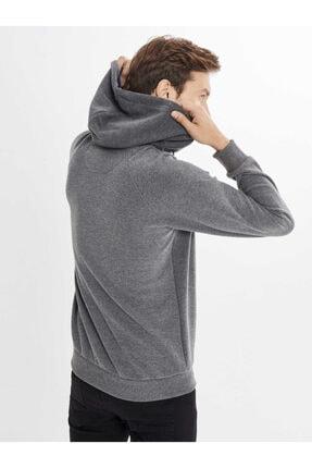 Mcl Giyim Kapüşonlu Baskılı Pamuklu Sweatshirt 3