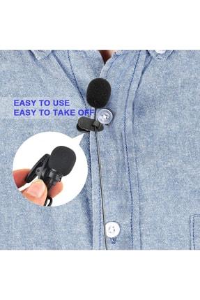 Streak Sony Samsung Yaka Mikrofonu 3.5mm Jak Hd Ses Cep Telefon Uyumlu 3