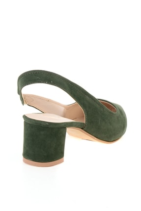 Bambi Koyu Yeşil Kadın Ayakkabı L0503721072 3