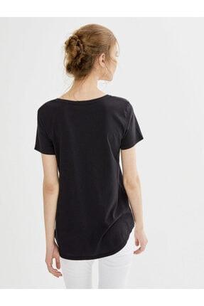 Xint Xınt Yuvarlak Yaka %100 Pamuk Basic Tişört 3