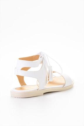 Bambi Beyaz Kadın Sandalet L0652071009 3