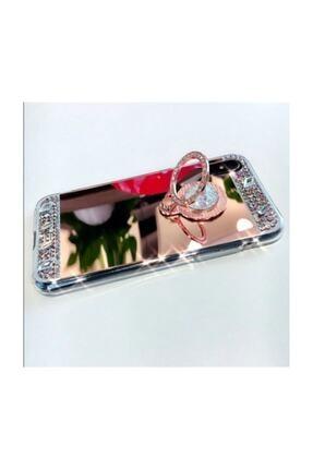 Ksyaccessories Iphone X/xs Aynalı Ve Taşlı Selfie Yüzüklü Telefon Kılıfı 3